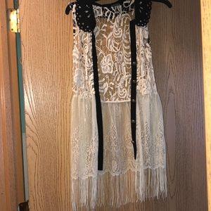 Gimmicks Lace festival vest